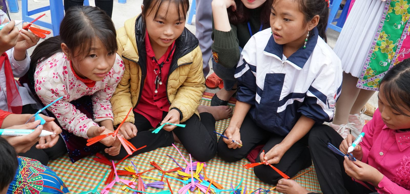 VSF - Book for children project - Ha Giang province